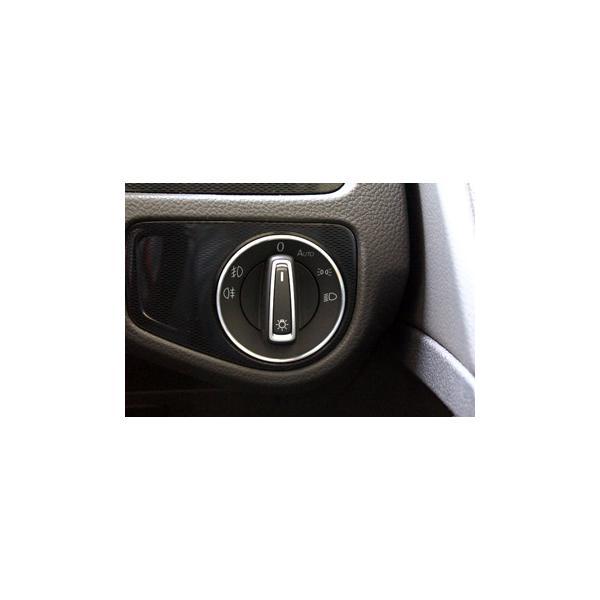 VW アルミ ヘッドライトスイッチリング|itempost