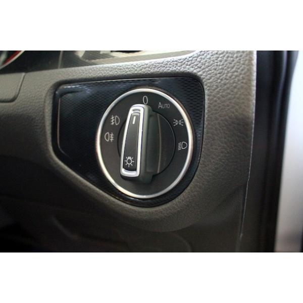 VW アルミ ヘッドライトスイッチリング|itempost|03