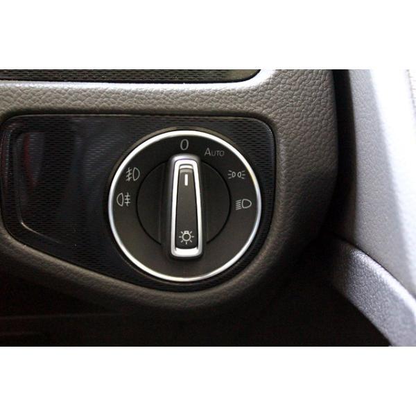 VW アルミ ヘッドライトスイッチリング|itempost|05