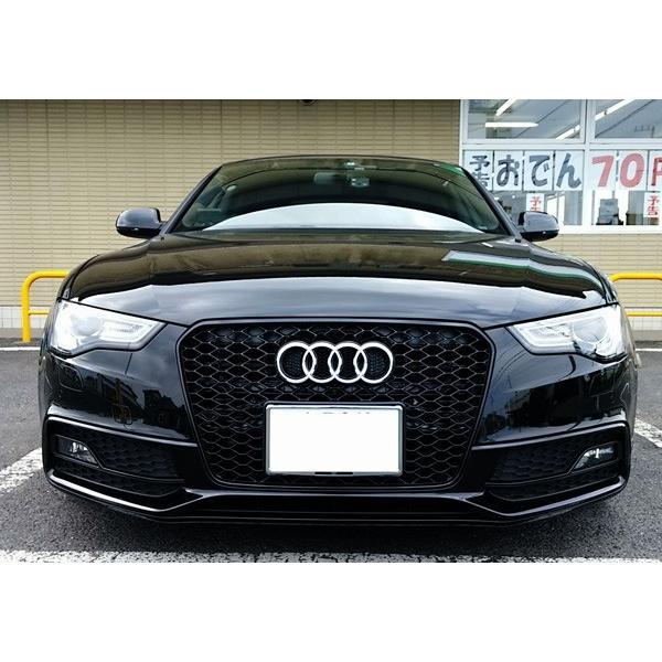 Audi A5 RSスタイル フロントグリル・ブラックフレーム|itempost|03