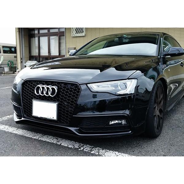 Audi A5 RSスタイル フロントグリル・ブラックフレーム|itempost|04