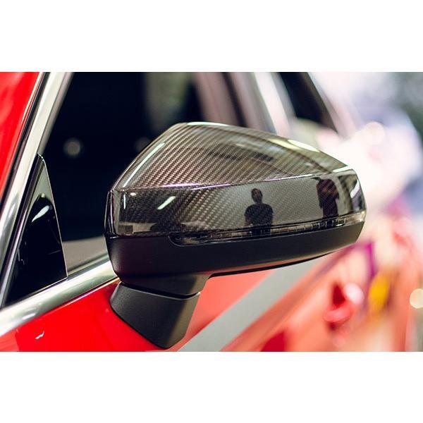 Audi A3/S3(8V) リアルカーボン ミラーカバー (TP-EURO製)|itempost|02