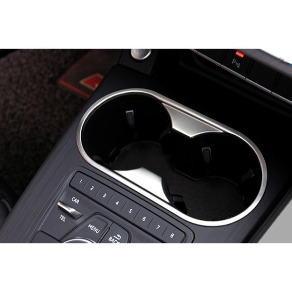 New Audi A4/A5(B9) ドリンクホルダーコンソールパネル|itempost|05