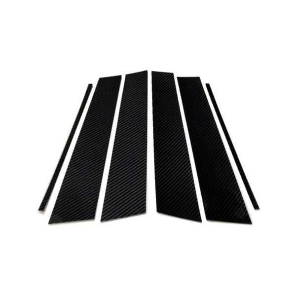 リアルカーボン ピラーパネル 6pcセット(GOLF7ハッチバック用)|itempost|04