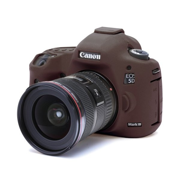 イージーカバー Canon EOS 5DS / 5Ds R / 5D Mark3用 限定カラー・チョコブラウン|itempost|03