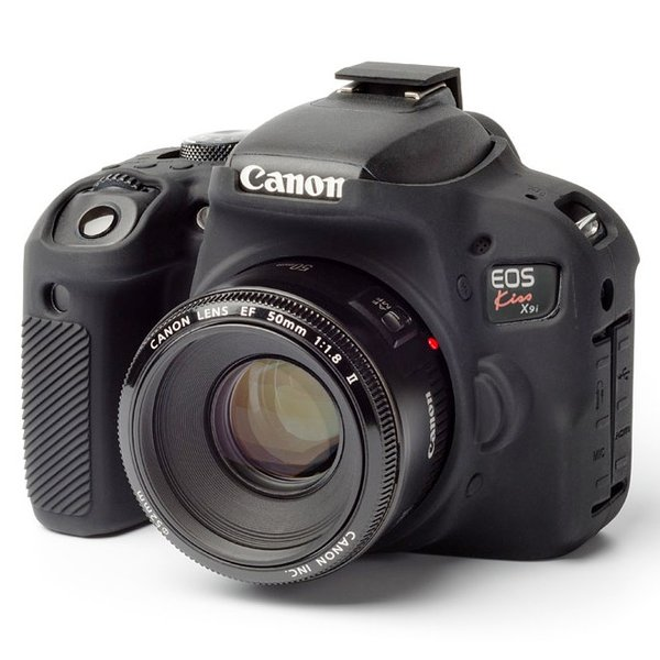 イージーカバー Canon EOS Kiss X9i 用 ブラック|itempost