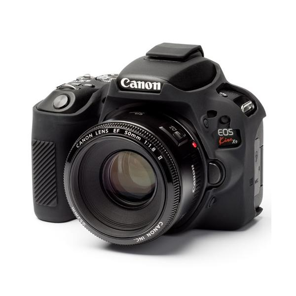 イージーカバー Canon EOS Kiss X9 用 ブラック|itempost
