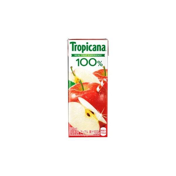 キリン トロピカーナ 100% アップル250ml 24本|itempost