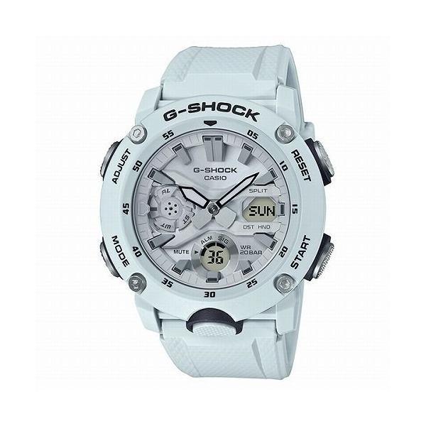 カシオGショック白 アナログ・デジタル腕時計 GA-2000S-7AJF メンズ 国内正規品|itempost
