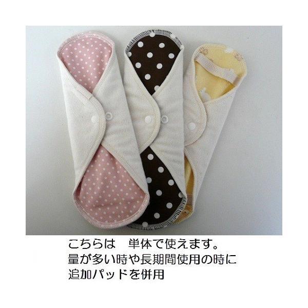 オーガニック/無漂白コットン 布ナプキン アウトレット ビギナーズセット|itempost|02