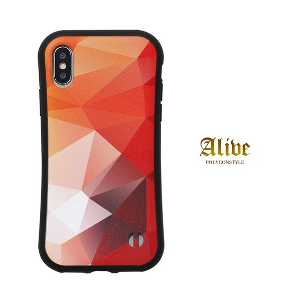 iPhone ケース かっこいい 【 ポリゴン 耐衝撃 】iPhoneXS Max / iPhoneXR / iPhoneXS / iPhoneX / iPhone8 / iPhone7|itempost|04