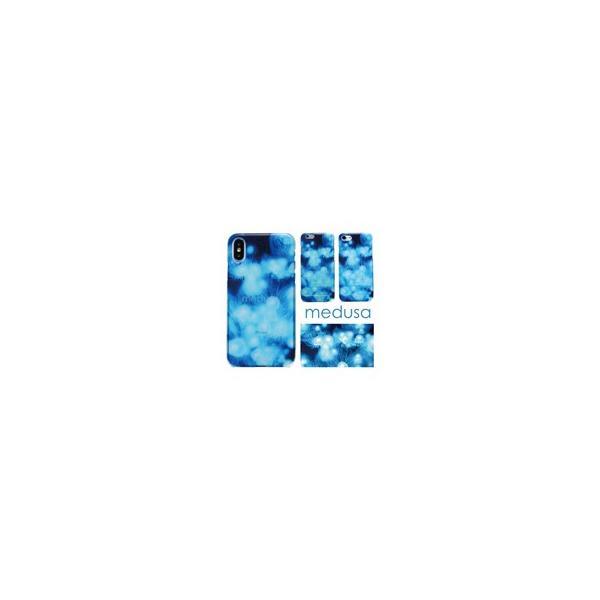 【  medusa 水色 クラゲ 】 ハードケース  TPUソフトケース iPhoneXS iPhoneX iPhone8 iPhone7 iPhone6s itempost