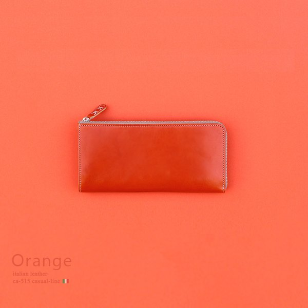 レザージー/leather-g イタリアンレザー長財布
