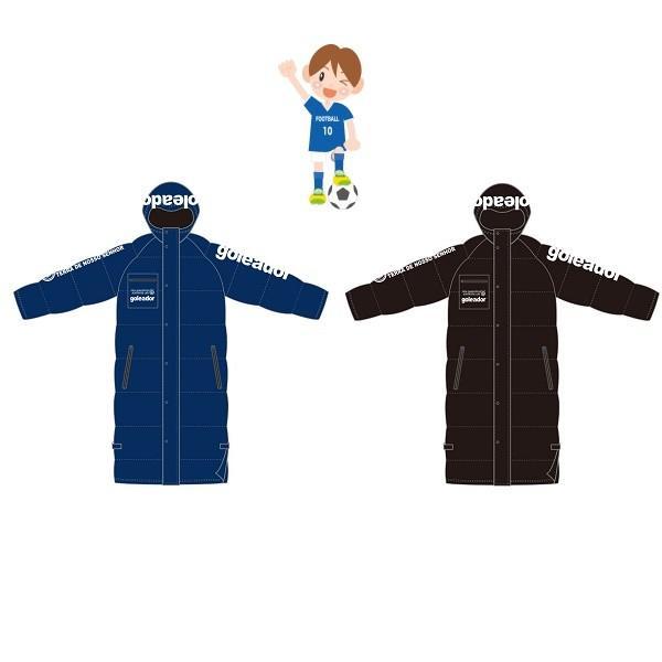 Jr.中綿ベンチコート・goleador(ゴレアドール)G-2101-1【送料無料】 itempost 02