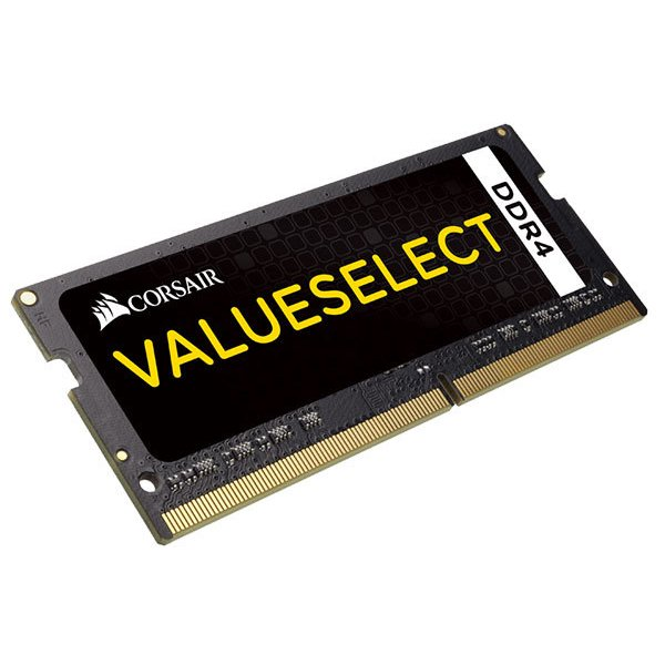 Corsair 8GB DDR4 2133MHz(PC4-17000) SODIMM 1.20V Unbuffered 15-15-15-36|CMSO8GX4M1A2133C15