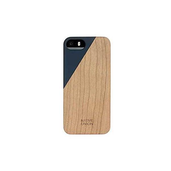 Native Union  Clic Wooden for iPhone SE/5/5s ブラック ウッドケース Marine CLIC-MAR-WD-5-5SV3