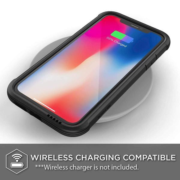X-Doria iPhone XR (2018) ケース DEFENSE SHIELD シリーズ 米軍MIL規格取得 MIL-STD-810G 衝撃吸収 スリム ハイブリッド アルミニウム × TPU × ポリカーボネ|itempost|05