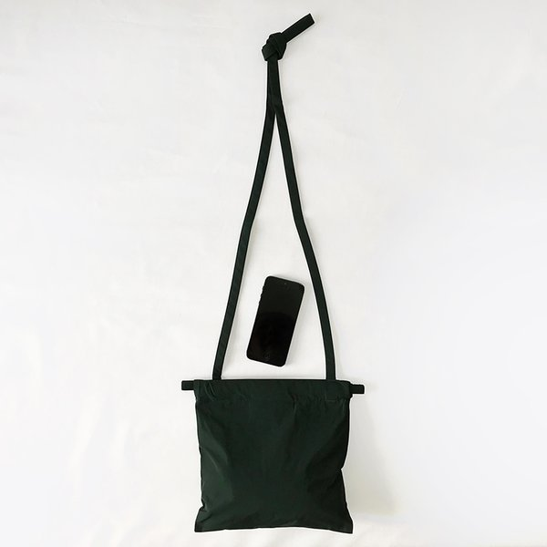 formuniform[フォームユニフォーム]Drawstring Bag XS With Strap-ショルダー付巾着バッグXS