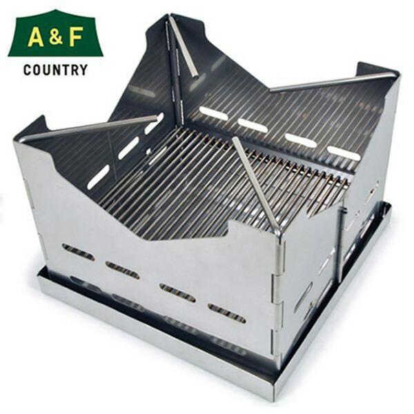 ファイヤー スタンド A&F エイアンドエフ 焚き火台 火起こし コンロ キャンプ 折りたたみ式 日本製 itempost