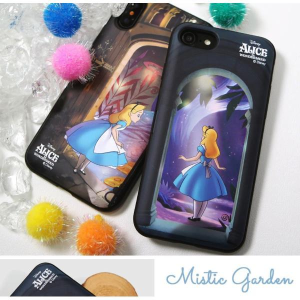 ディズニー iPhoneケース iPhoneXSMAX iPhoneXR iPhone8 iPhone7 iPhoneXS ふしぎの国のアリス カード収納 ミラー付き Galaxy 送料無料 公式 グッズ|itfriends|02