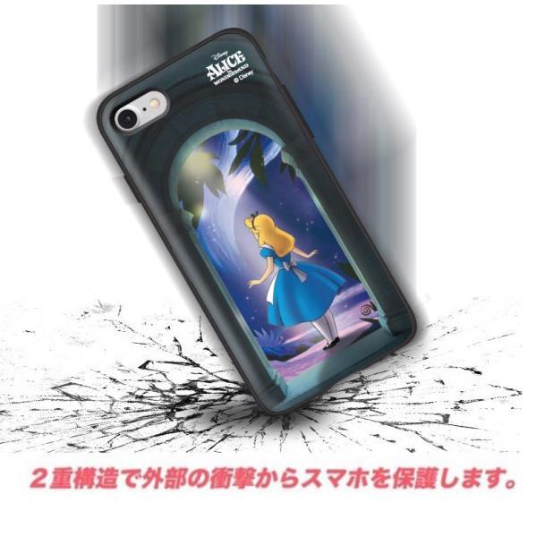 ディズニー iPhoneケース iPhoneXSMAX iPhoneXR iPhone8 iPhone7 iPhoneXS ふしぎの国のアリス カード収納 ミラー付き Galaxy 送料無料 公式 グッズ|itfriends|11