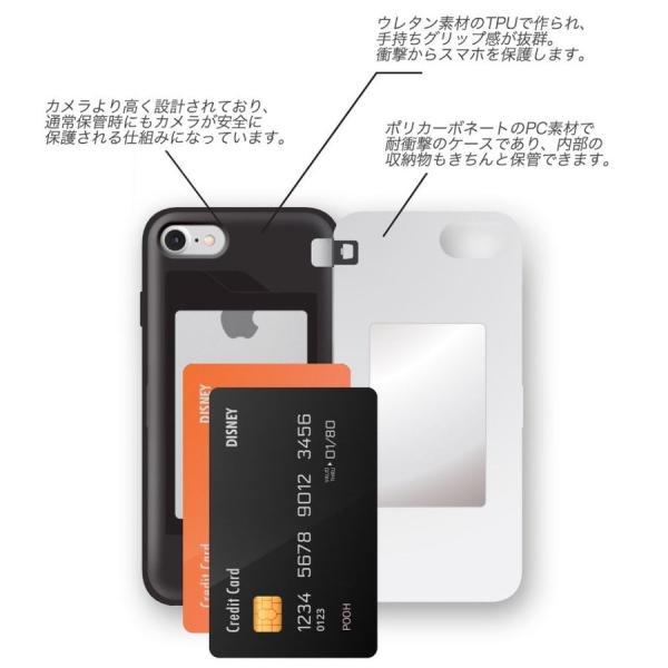 ディズニー iPhoneケース iPhoneXSMAX iPhoneXR iPhone8 iPhone7 iPhoneXS ふしぎの国のアリス カード収納 ミラー付き Galaxy 送料無料 公式 グッズ|itfriends|05