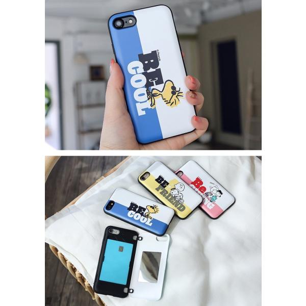 スヌーピーケース iPhoneケース iPhone11 Pro MAX iPhoneXR iPhone7 iPhone8 SNOOPY 公式 カード収納 ミラー付き グッズ スマホケース Galaxy プレゼント|itfriends|15