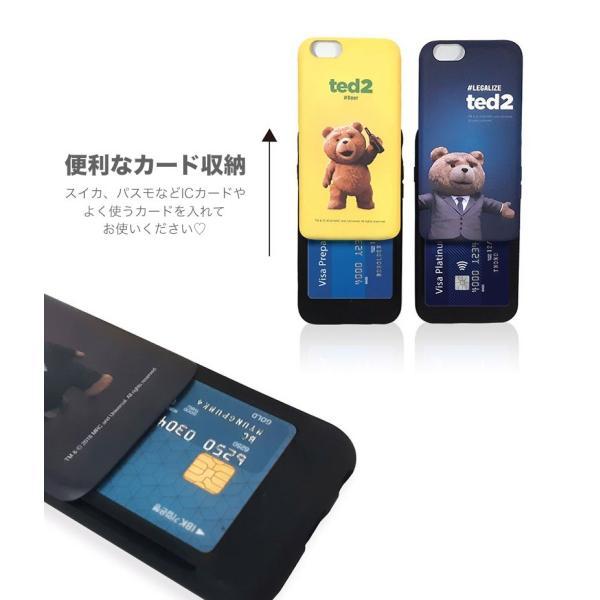 d19b90e3bf ... テッド iPhoneケース グッズ テッド2 カード スライド iPhoneX iPhone8 iPhone7 iPhone6s 声優 TPU  PC パンパー ...