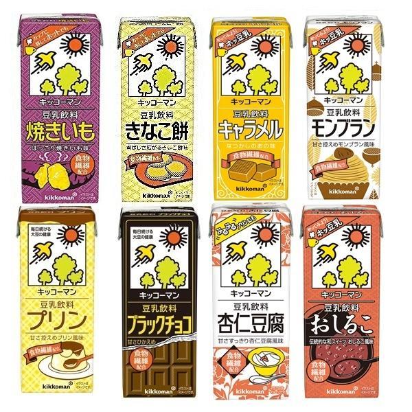 大好評 大特価 キッコーマン 豆乳 選べる 2ケース 200ml×18本 2ケース 合計 36本 セット 本州 送料無料|ito-syo-on-line|07