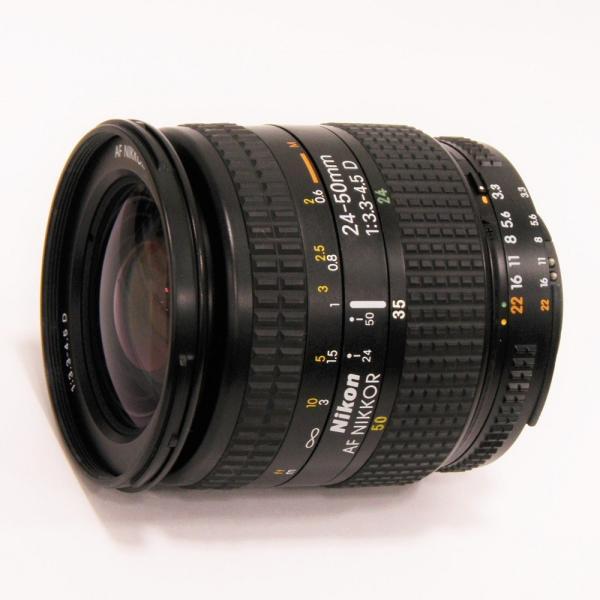 【中古】 Nikon AF NIKKOR 24-50mmF3.5-4.5 D[オートフォーカスレンズ]