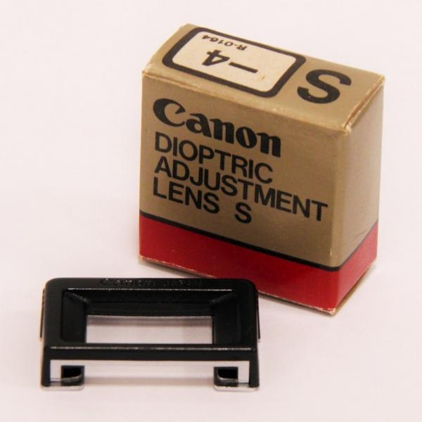 Canon 視度補正レンズ S 【-4】(Aシリーズ用)