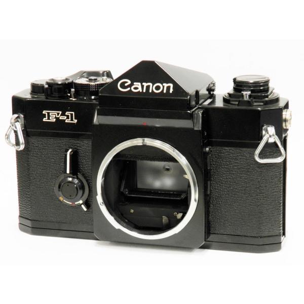 【中古】 Canon F-1 ボディ 【 後期型(F-1改)】[マニュアルフォーカスフイルム一眼レフカメラ]