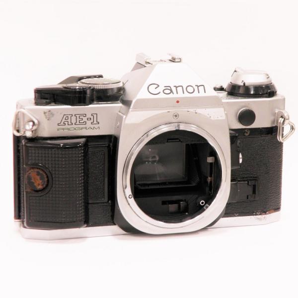 【ジャンク品】 Canon AE-1 プログラム ボディ[マニュアルフォーカスフイルム一眼レフカメラ]