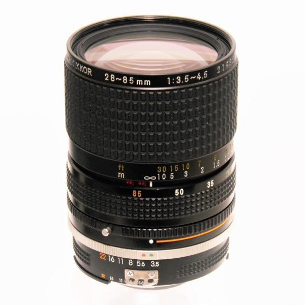 【ジャンク品】 Nikon Ai-S 28-85mmF3.5-4.5[マニュアルフォーカスレンズ]