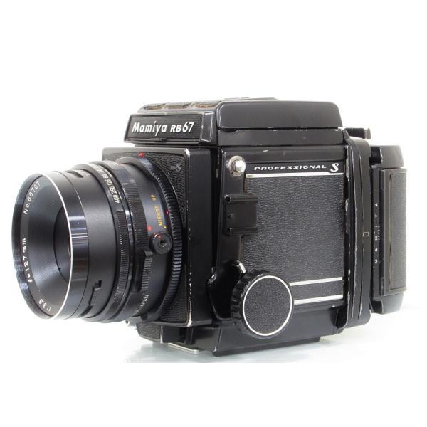【ジャンク品】 Mamiya RB67 PRO S + SEKOR NB 127mmF3.8[マニュアルフォーカス中判カメラ]