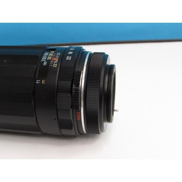 【クラシック】 旭光学 スーパータクマー 200mm F4(ペンタックススクリューマウント)[マニュアルフォーカスレンズ]