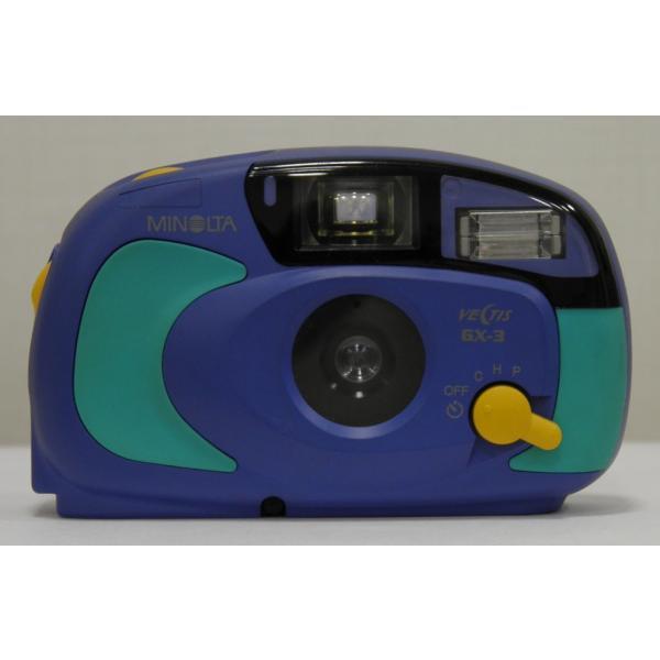 【ジャンク品】【APSコンパクトカメラ】 MINOLTA VECTIS GX-3