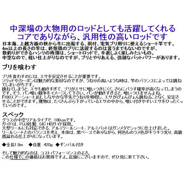 180 ショート エアー 中深場用 中空仕様|itoturi|10