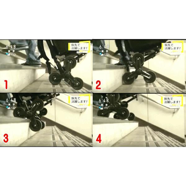 アルミバックパック トリプルキャリー プロックス 階段を上り下りするカート|itoturi