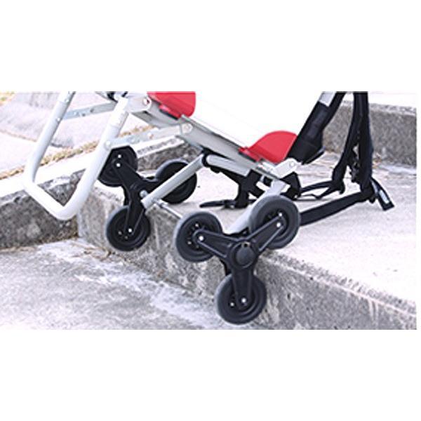 アルミバックパック トリプルキャリー プロックス 階段を上り下りするカート|itoturi|03