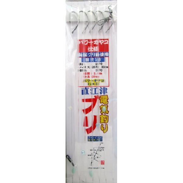 日本海 電気釣り 直江津ブリ仕掛け パワーオヤコ仕様 全長14.2m|itoturi