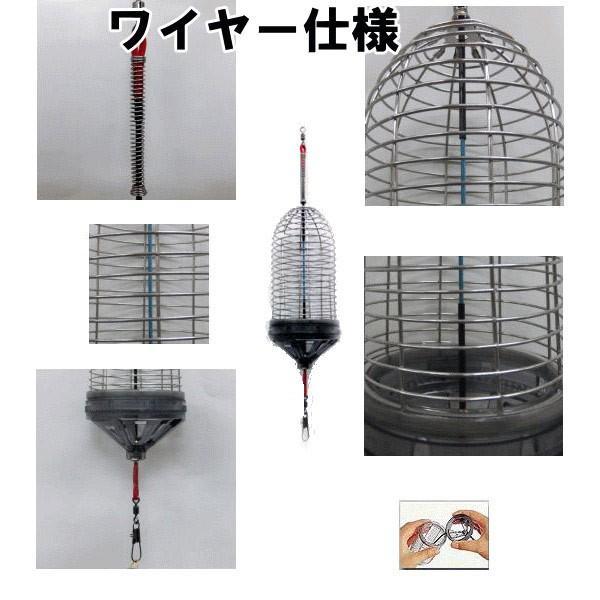 Wキャップカゴ 最強ワイヤー仕様 70-S 70mm×140mm|itoturi