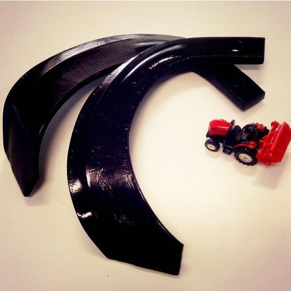 三菱 耕うん機用ナタ爪 4-03 (20本セット) ストレートセンター【国産/東亜重工製】