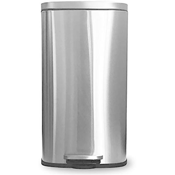 フットペダル式ステンレスダストボックス 30L ゴミ箱ダストボックスステンレスおしゃれ丈夫45リットル45lゴミ袋i001