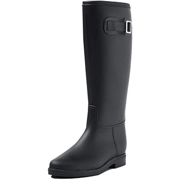 COCOCLUB ロングレインブーツレインシューズレディース靴雨雨靴婦人長靴シューズジョッキーエンジニアかわいいかっこ