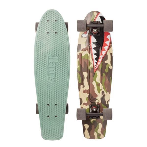 PENNY skateboard(ペニースケートボード)27inchモデル GRAPHICシリーズ SHARKBOMBER|itsudemokaden|03
