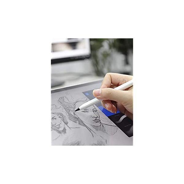 吉川優品 Apple Pencilチップ 2個入り Apple Pencilペン先 柔らかい 書き心地が良い第1世代 / 第2世代 Appl|itsudemokaden|02