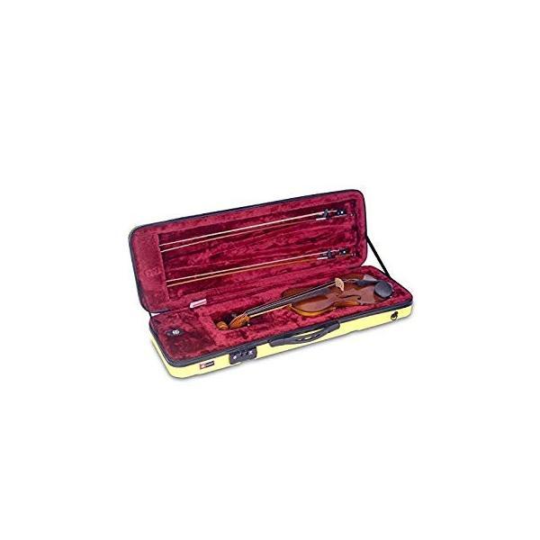CROSSROCK CRA400VFYL ABS製4/4サイズ バイオリン用ハードケース イエロー|itsudemokaden|05