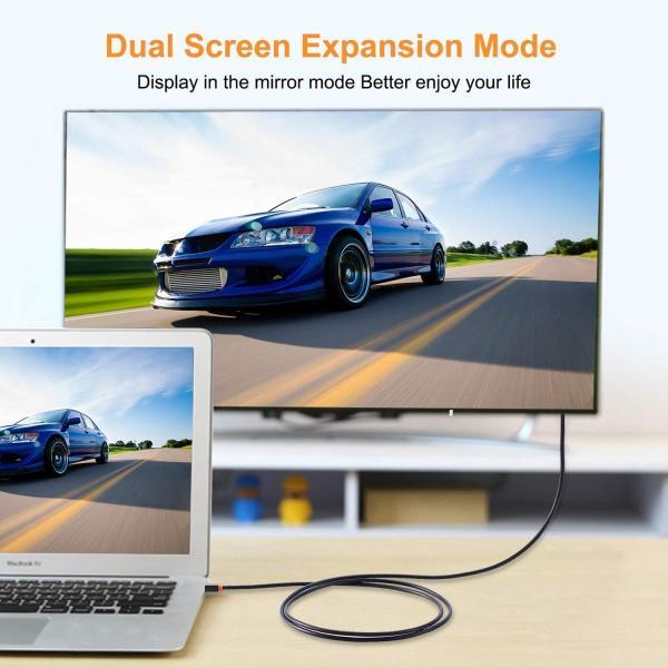 CABLETIME Mini Displayport to HDMI 変換ケーブル Thunderbolt Port 変換 HDMI 108|itsudemokaden|03