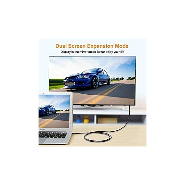 CABLETIME Mini Displayport to HDMI 変換ケーブル Thunderbolt Port 変換 HDMI 108|itsudemokaden|09